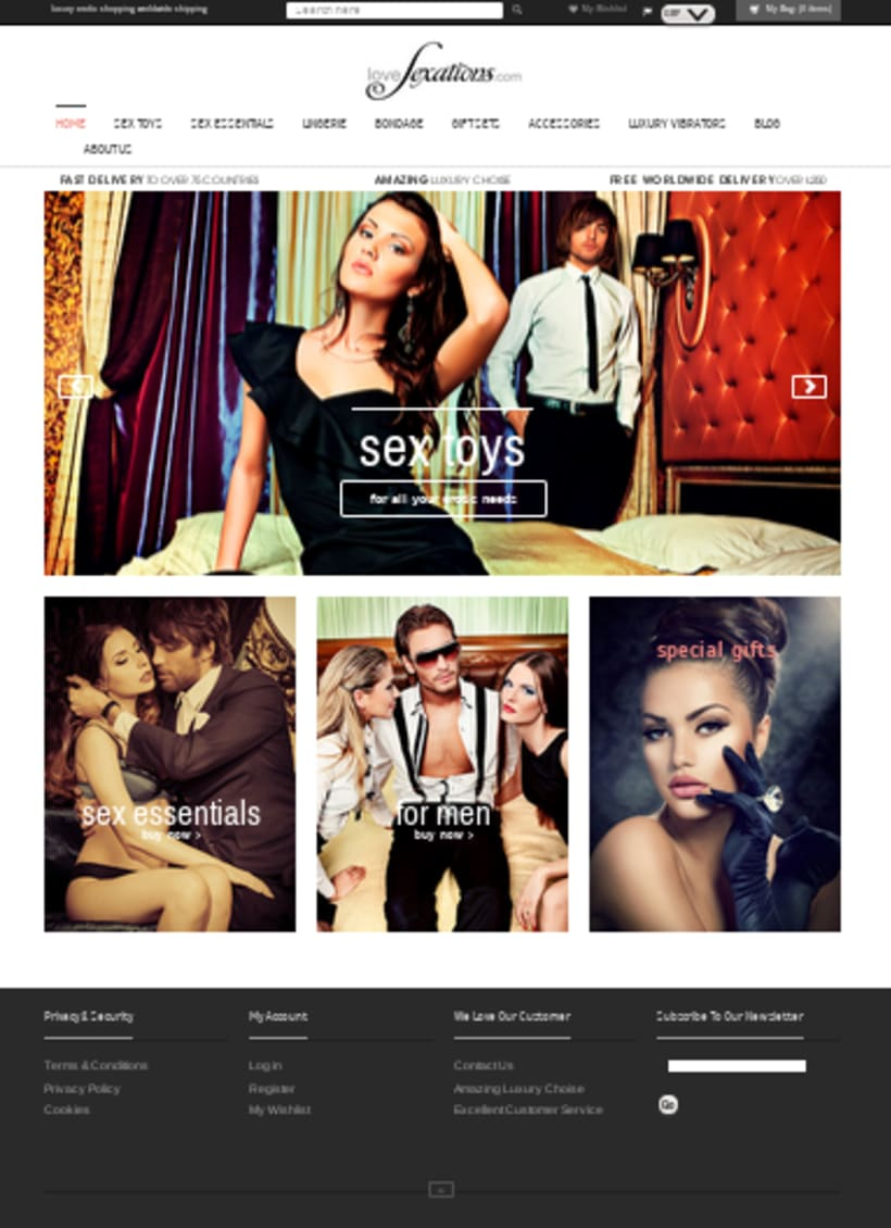 Shopify luxury erotic shop 2