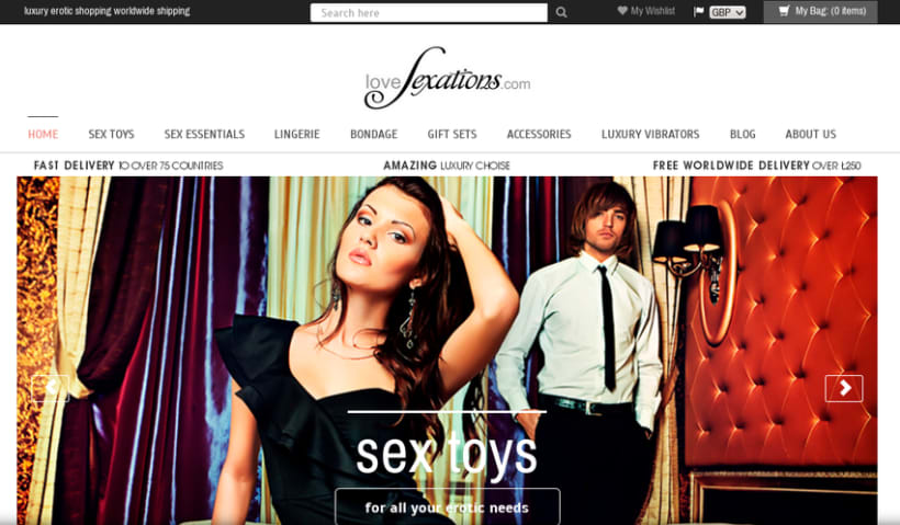 Shopify luxury erotic shop 1