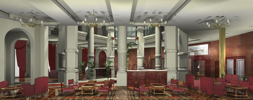 Interiorismo - Hotel Reforma 1
