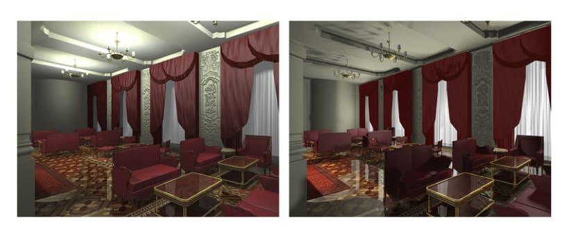 Interiorismo - Hotel Reforma 2