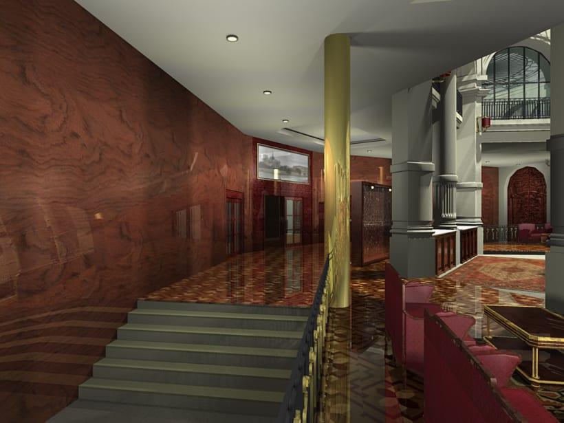 Interiorismo - Hotel Reforma 3