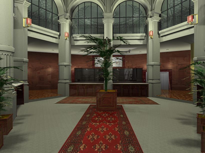 Interiorismo - Hotel Reforma 4