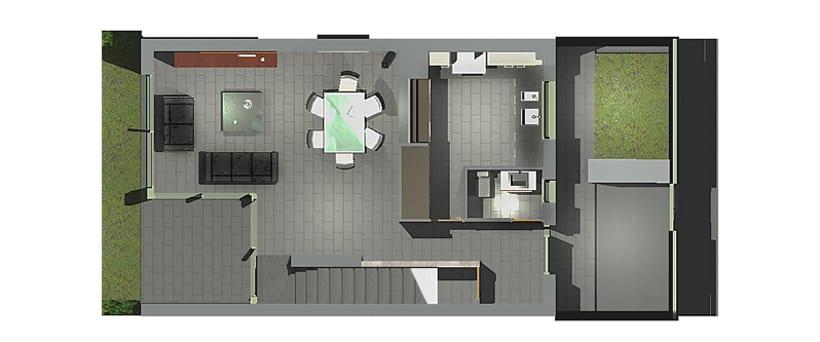 Conjunto viviendas - maquetas 3D 2