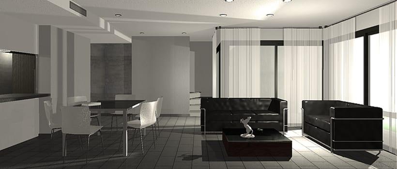 Conjunto viviendas - maquetas 3D 3