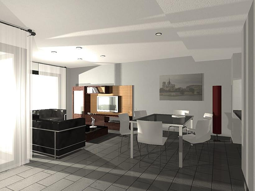 Conjunto viviendas - maquetas 3D 4