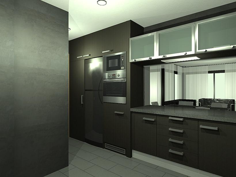 Conjunto viviendas - maquetas 3D 5