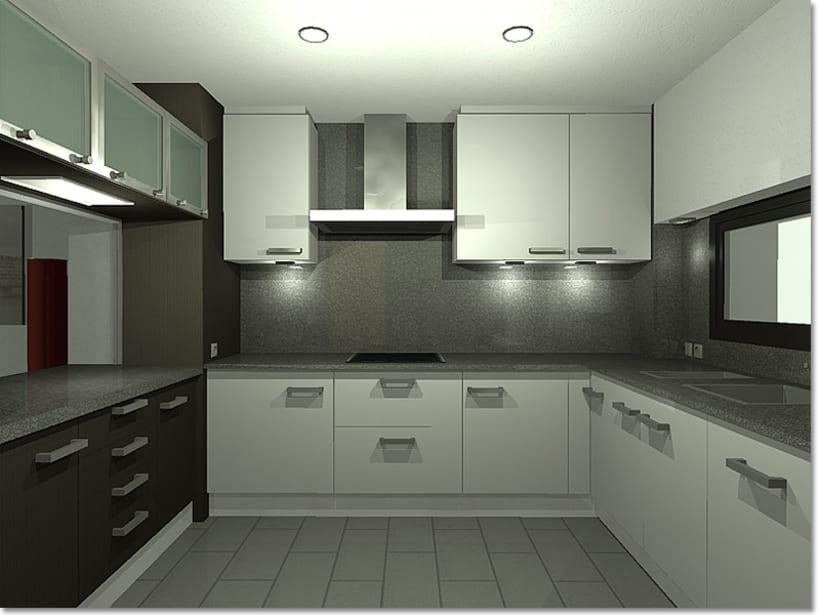 Conjunto viviendas - maquetas 3D 6