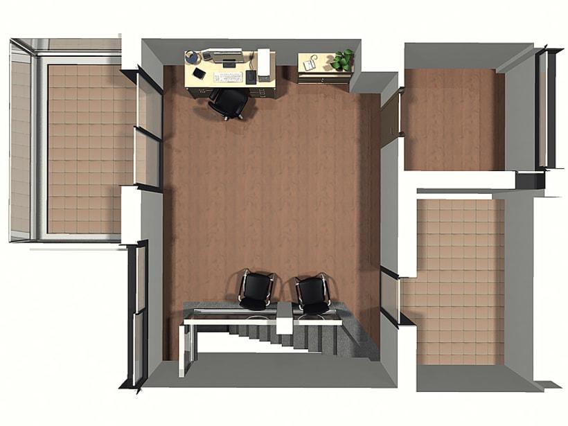 Conjunto viviendas - maquetas 3D 8