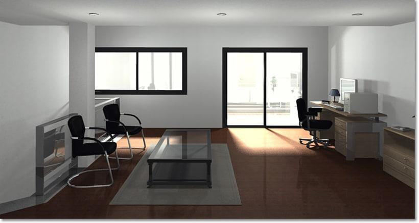 Conjunto viviendas - maquetas 3D 9