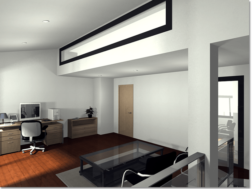 Conjunto viviendas - maquetas 3D 10