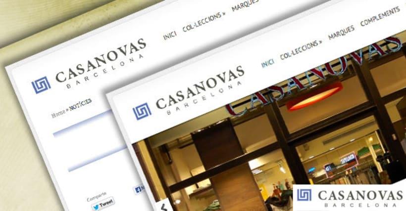 Web Casanovas Barcelona 0