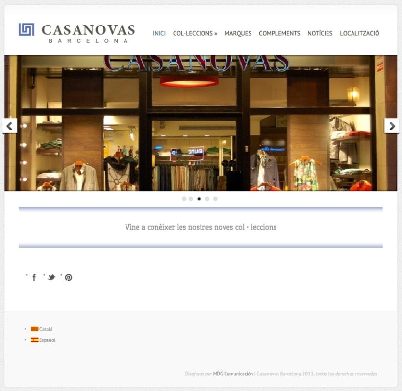 Web Casanovas Barcelona 2