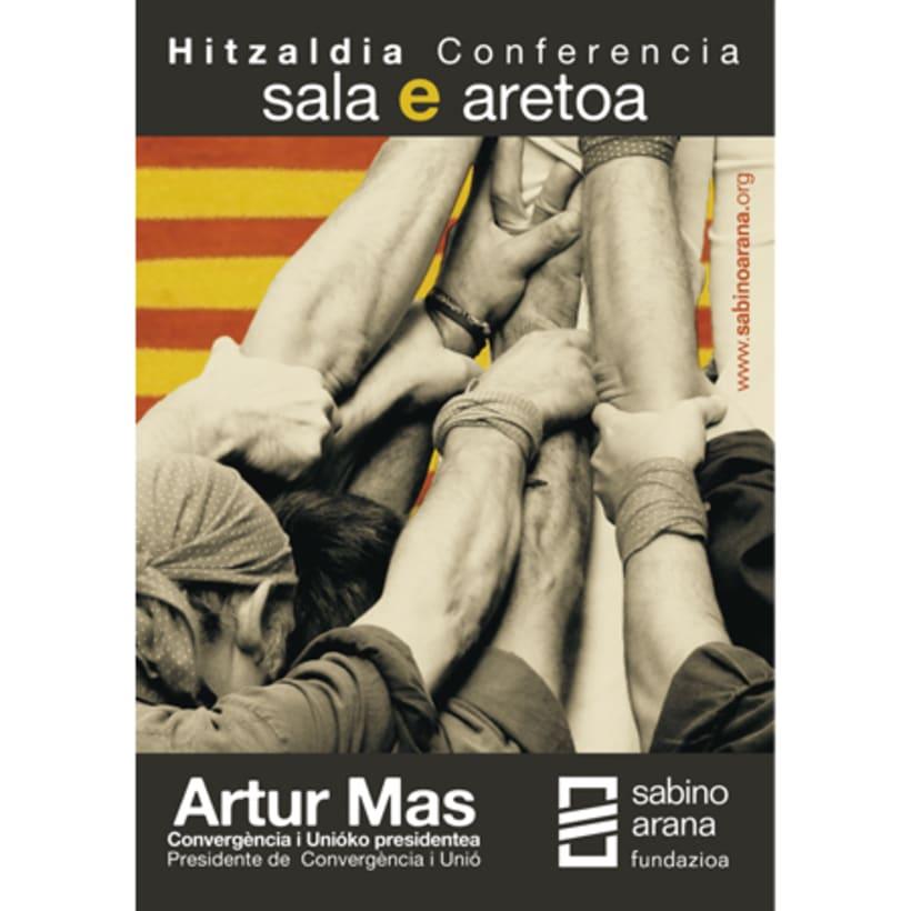 Conferencia Artur Mas 0