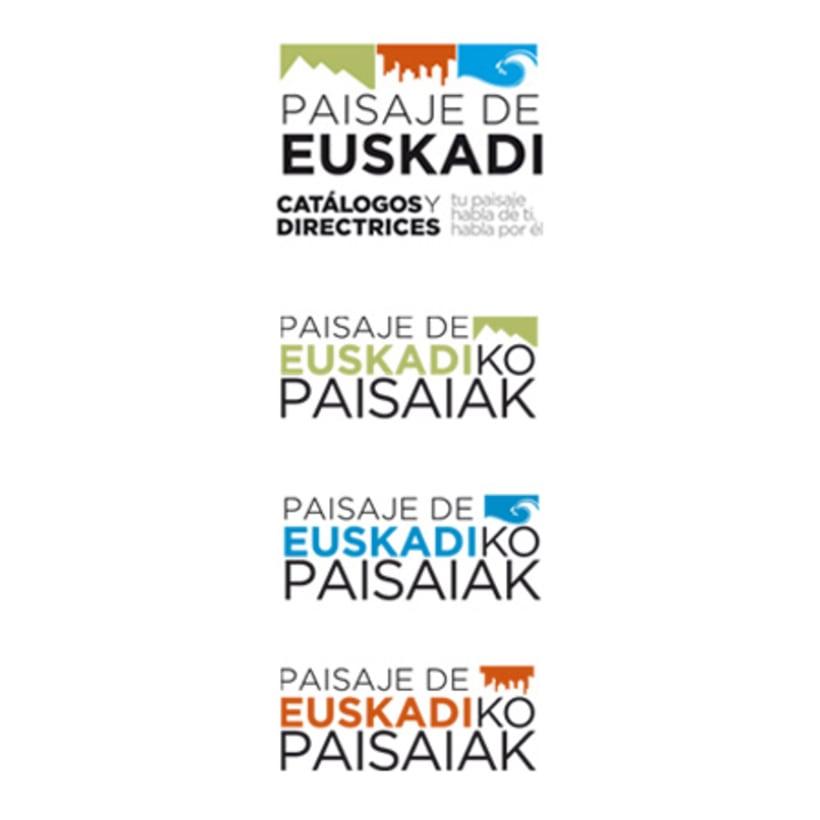 Paisaje de Euskadi. Logotipos -1
