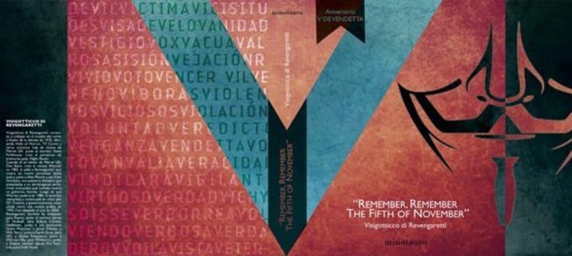 V de Vendetta. Libro de prestigio y merchandising 1