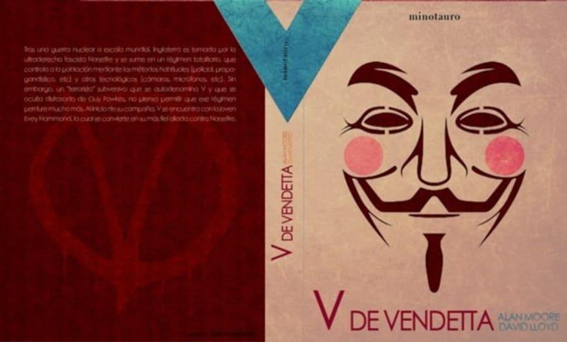V de Vendetta. Libro de prestigio y merchandising 5
