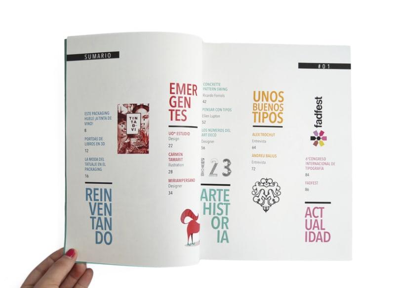 Proyecto personal. Prototipo impreso de la revista Cemeica 1