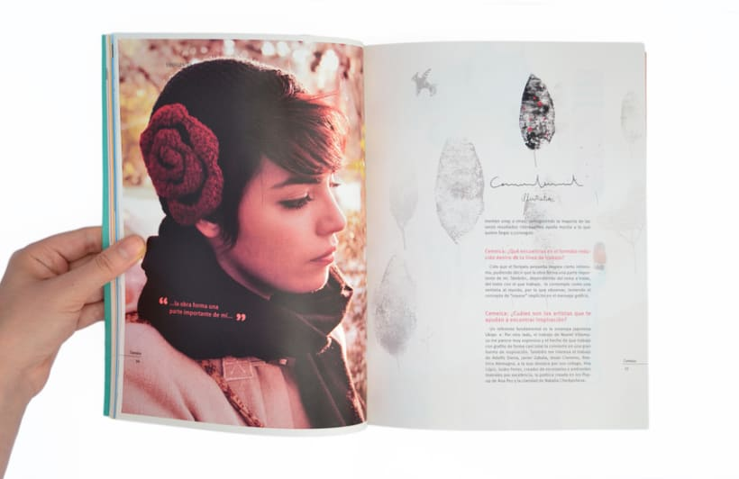Proyecto personal. Prototipo impreso de la revista Cemeica 6