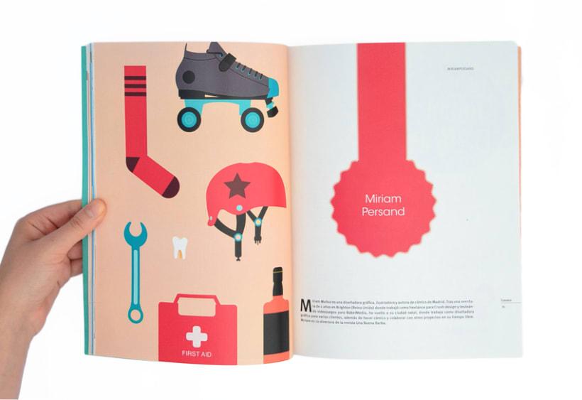 Proyecto personal. Prototipo impreso de la revista Cemeica 9