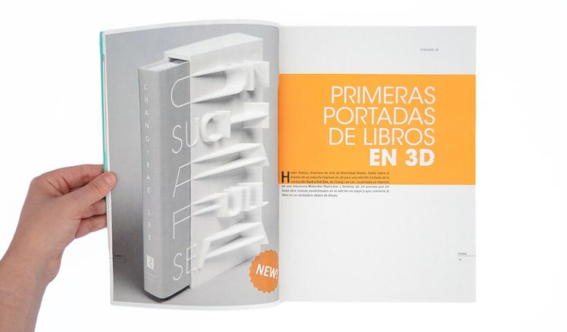 Proyecto personal. Prototipo impreso de la revista Cemeica 12