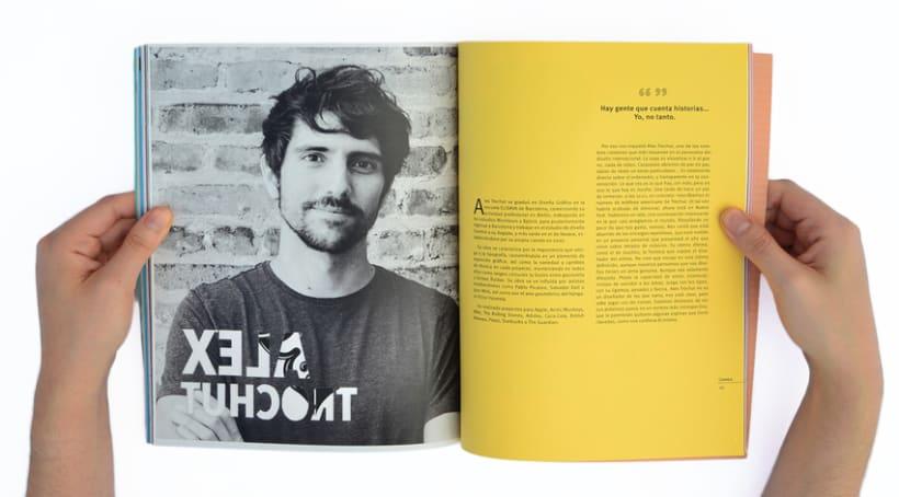 Proyecto personal. Prototipo impreso de la revista Cemeica 16