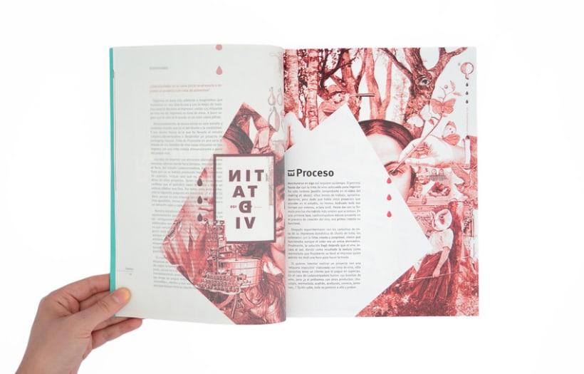 Proyecto personal. Prototipo impreso de la revista Cemeica 14