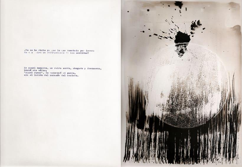 El corazón delator, ilustraciones abstractas 3