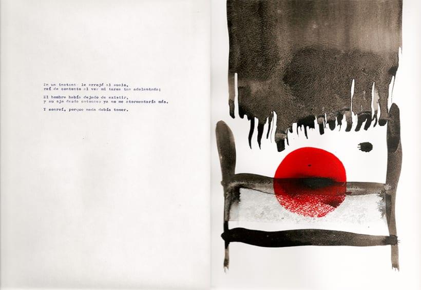 El corazón delator, ilustraciones abstractas 4