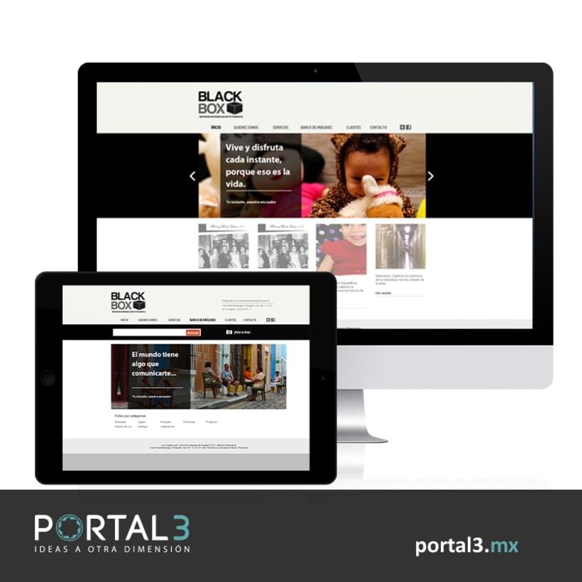 Diseño de sitio web - Portal 3 -1