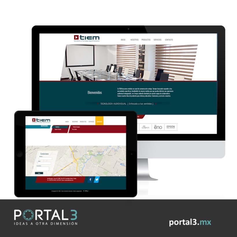 Diseño web para CTIEM -1
