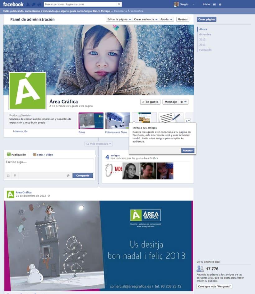 Web y redes sociales Áreagrafica 1