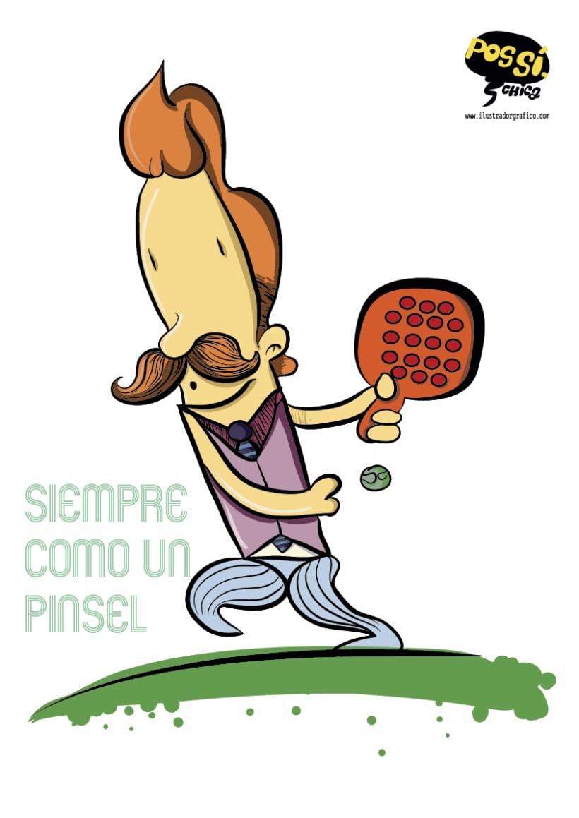 Pos Si ,Chica ( ilustración con mensaje ) 8