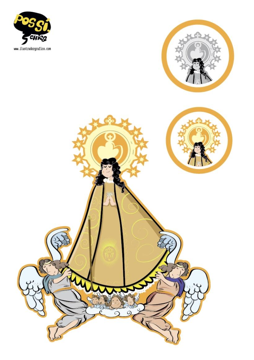 Pos Si ,Chica ( ilustración con mensaje ) 17