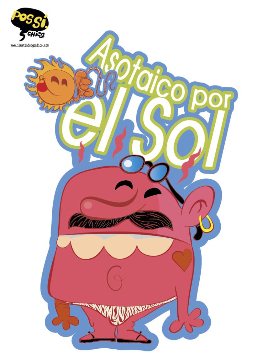 Pos Si ,Chica ( ilustración con mensaje ) 27