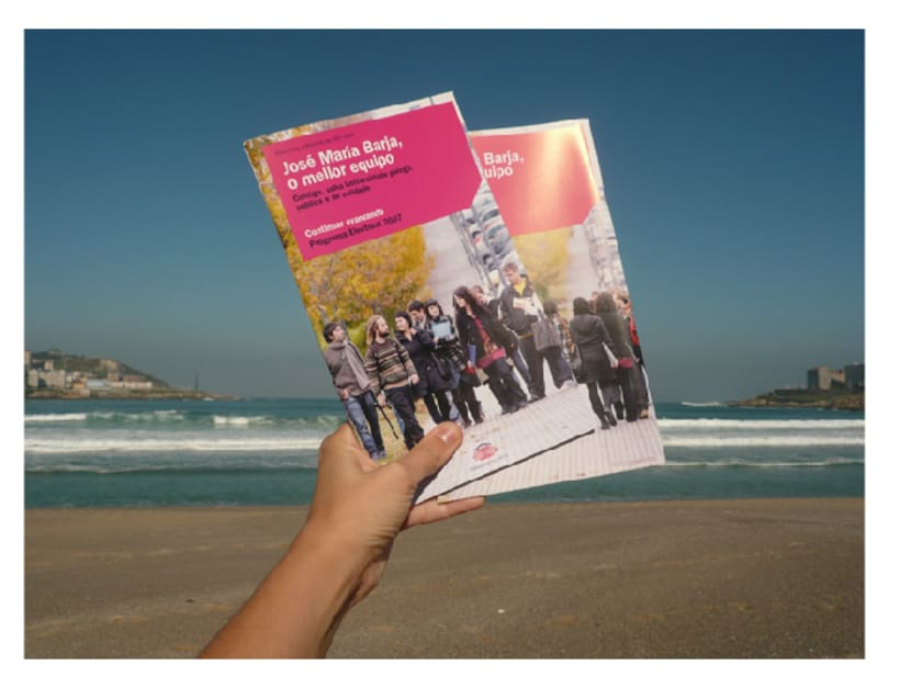 Campaña candidatura Nova Luce á Reitoría. Universidade da Coruña 5