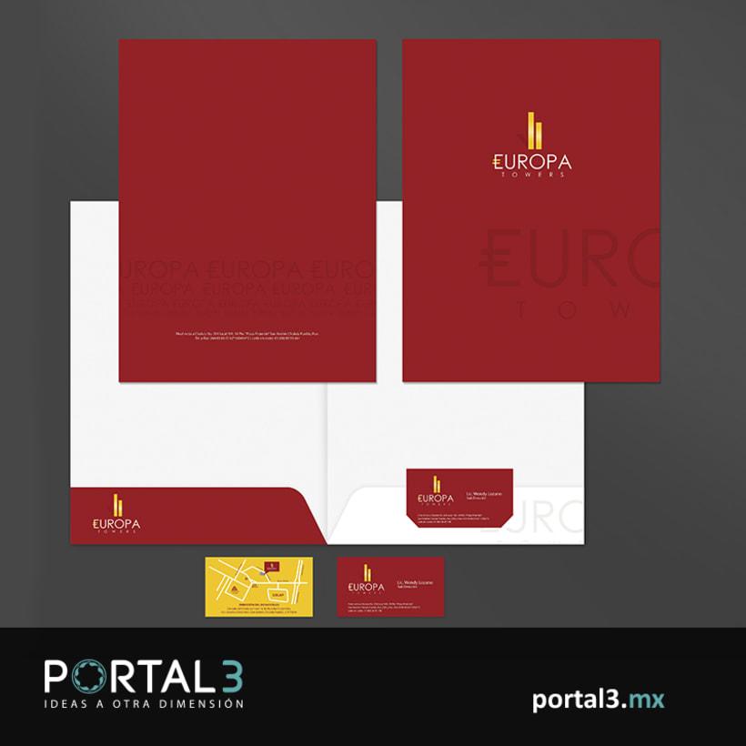 Imagen corporativa para Europa Towers -1