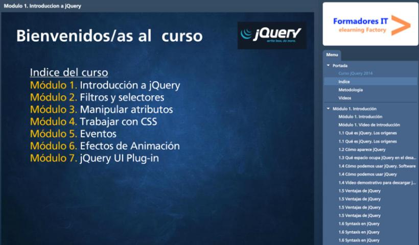 Desarrollo curso jQuery online 0