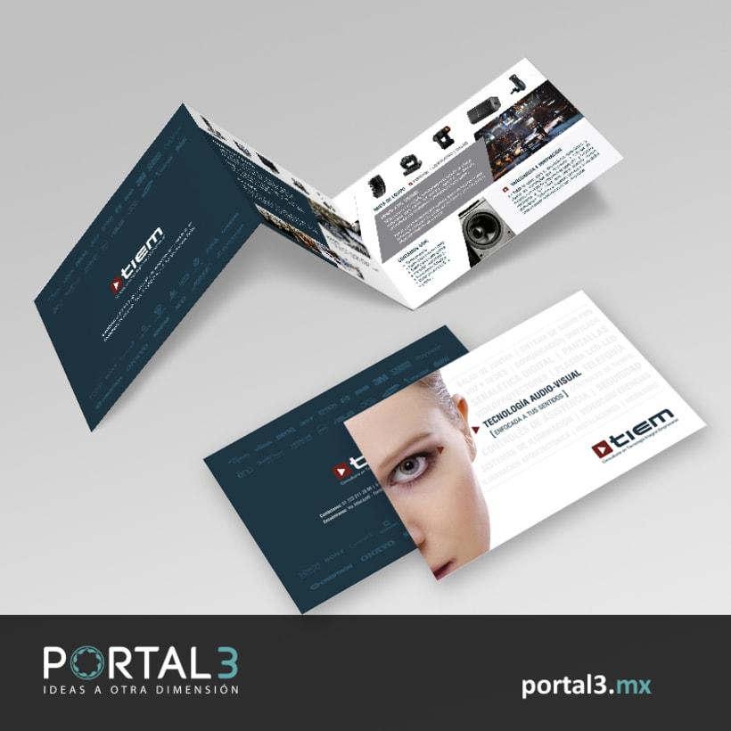 Diseño de brochure para TIEM -1