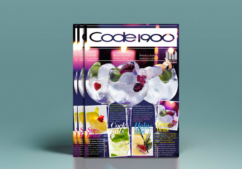 Code 1900. Diseño de revista -1