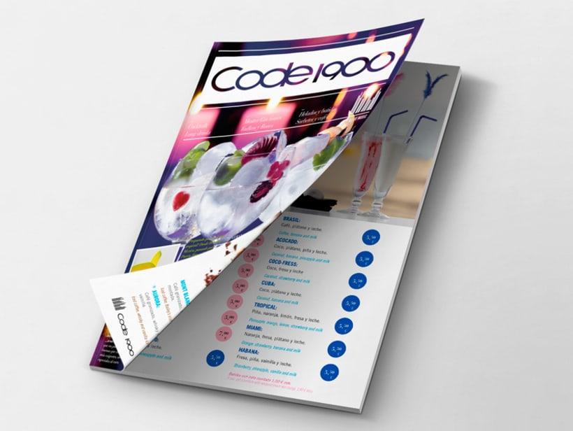 Code 1900. Diseño de revista 0