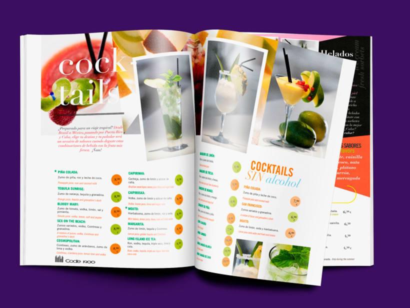 Code 1900. Diseño de revista 1