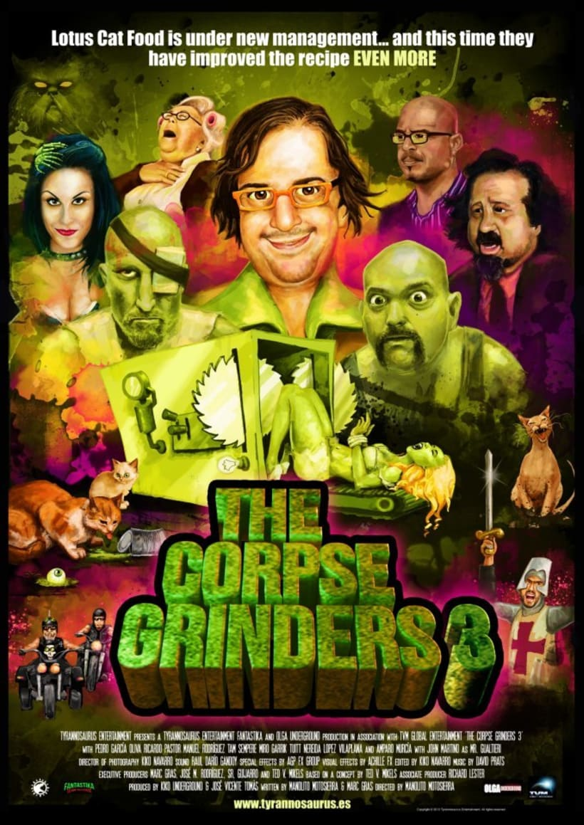 The Corpse Grinders 3 0