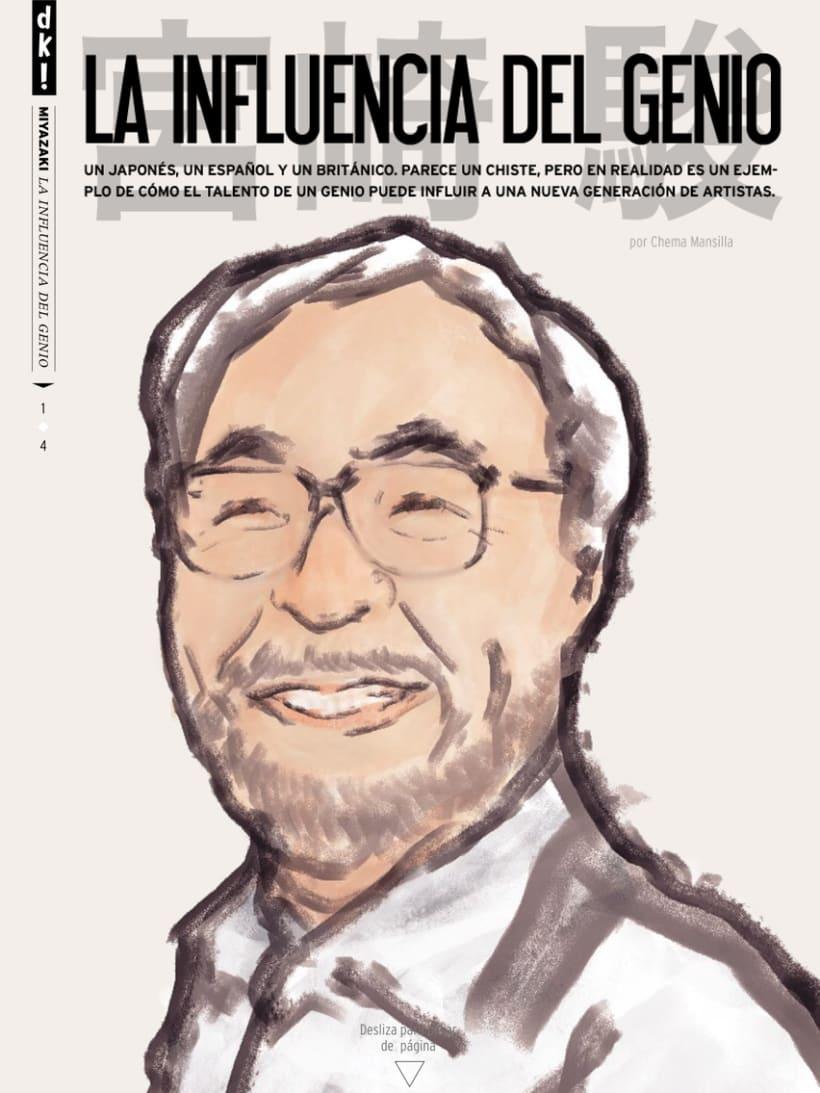Ilustración Editorial - Duckout! Magazine 1