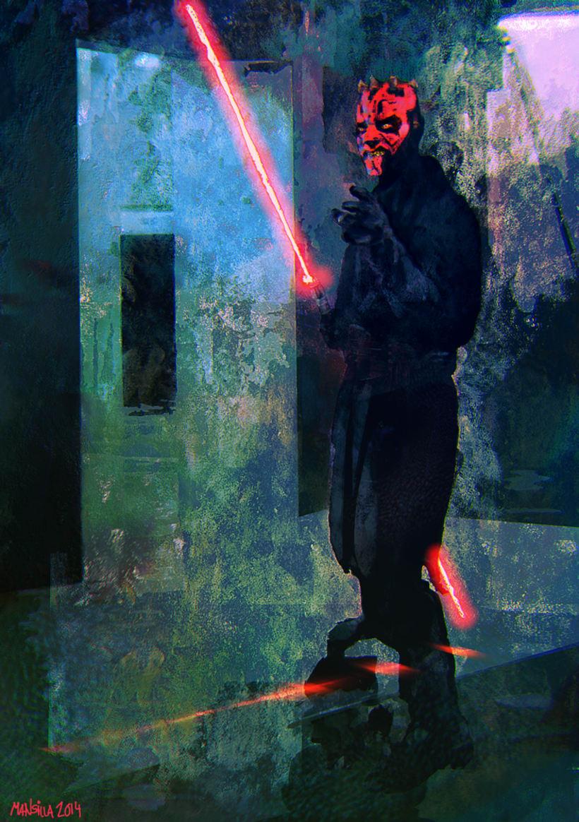 Nuevos trabajos de pintura digital 11