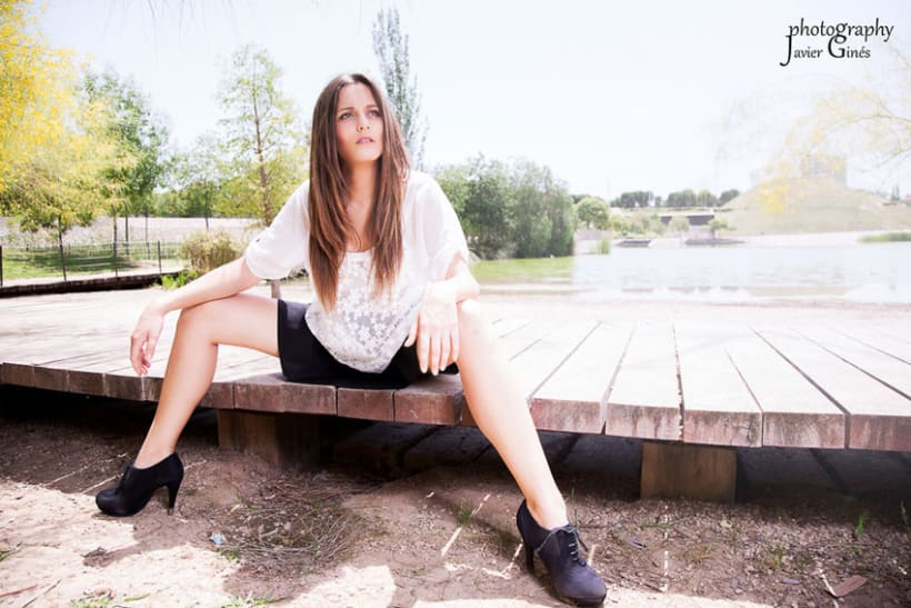 Fotografía de moda en exteriores 5