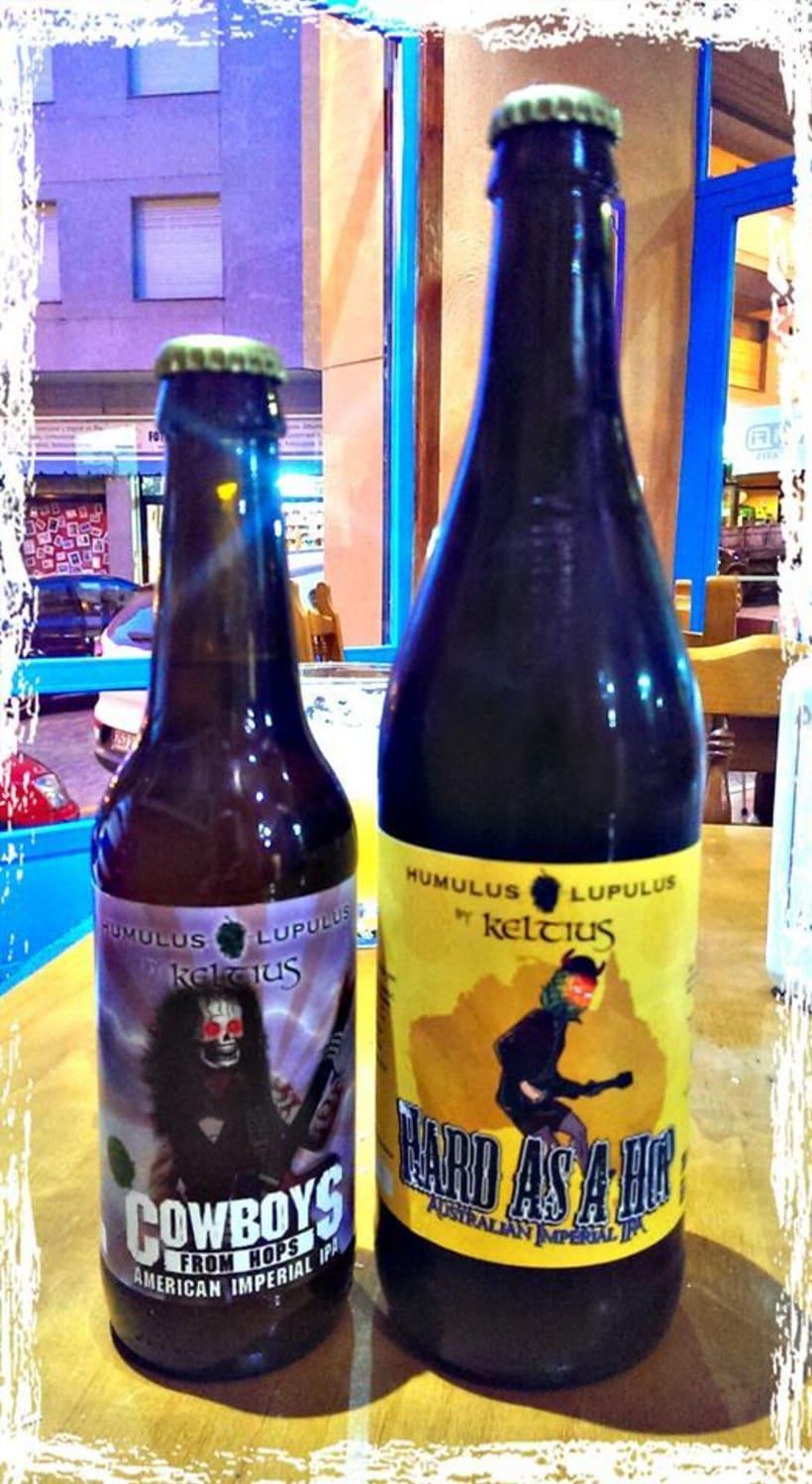 Diseño de etiquetas de cerveza 0