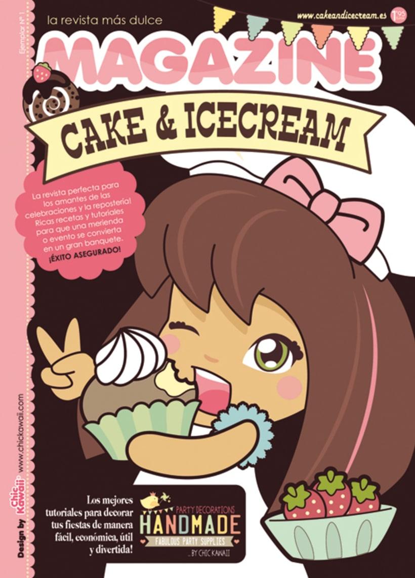 Revista Cake & Icecream. -1