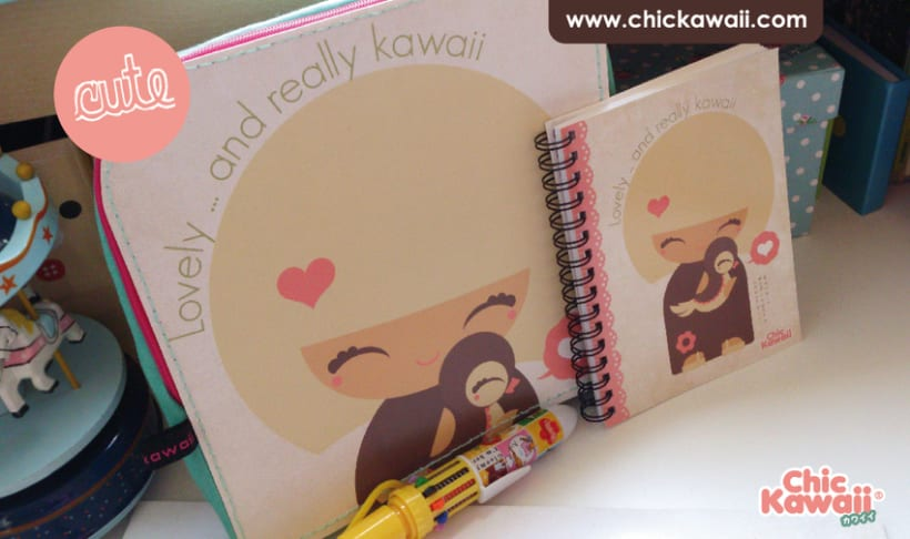 Libretas Chic Kawaii 1