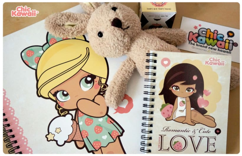 Libretas Chic Kawaii 0