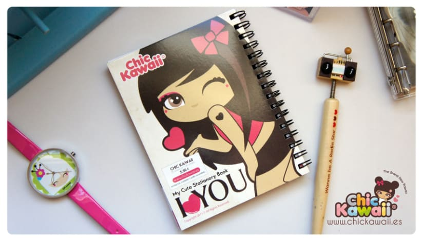Libretas Chic Kawaii 4